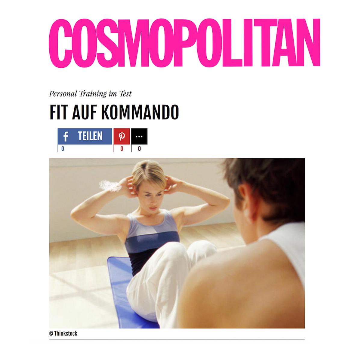 Artikel in Cosmopolitan